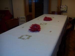 mesa nochebuena