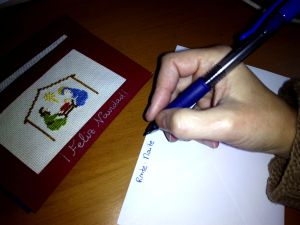 Xtmas writing