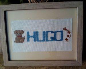 Hugo enmarcado