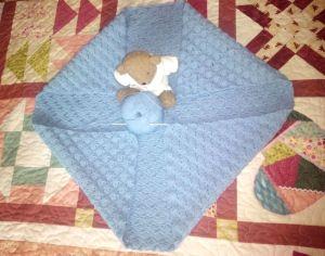 toquilla bebé Nuria oso