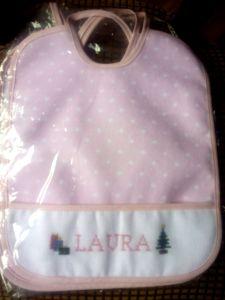 babero Laura Navidad
