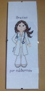 doctora con marco