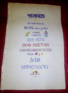 45 aniversario fin